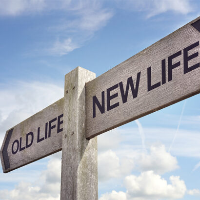 New life concept for fresh start, new year resolution, dieting and healthy lifestyle