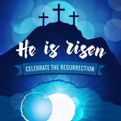 He Is Risen 610x610
